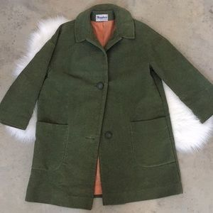 Vintage 50's Mod Winter Coat Betty Rose Size 14